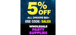Wholesale Party Supplies